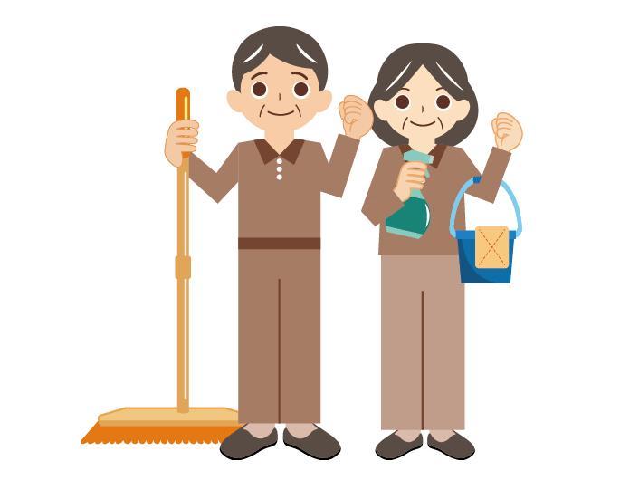 【清掃スタッフ】週1~2日でOK!1人現場なので気楽にお仕事できます♪