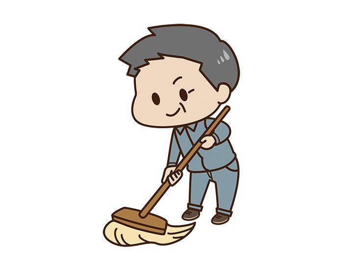 【マンションの清掃員】年金受給者もOK★50~60代からのスタートも多数!!