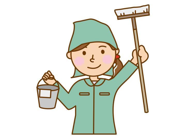 【清掃スタッフ 】簡単な清掃のお仕事★12時迄なのでプライベートも充実◎