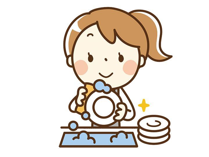 【洗い場・配膳スタッフ】簡単な食器洗浄・配膳業務です☆短時間だから働きやすい♪