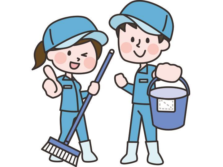 【清掃員 】★分譲マンション初代清掃員・管理員募集!★