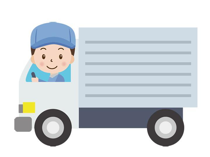 【4tトラックのルート配送】年齢不問!!規則正しい生活×力仕事無し♪