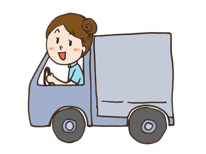 【4tドライバー】月収45万円も可能★全額会社負担で中型免許取得できます♪