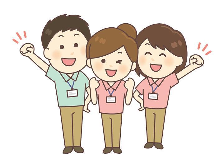 【介護スタッフ】食事・入浴介助ナシ☆無資格・未経験も大歓迎!