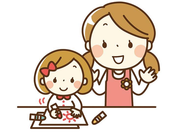 【保育士】≪朝・夕≫パートさんの募集です!!子育て世代も多くご家庭との両立も◎