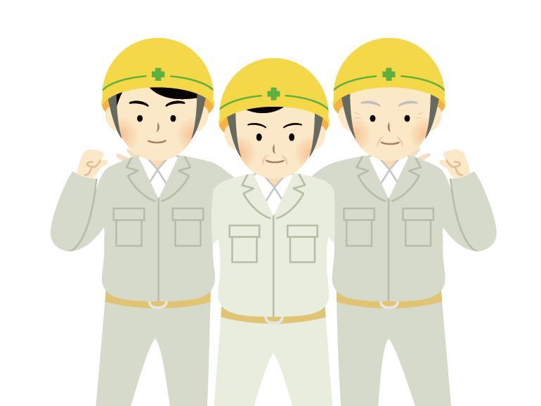 【現場作業スタッフ】7月設立の新しい会社です♪