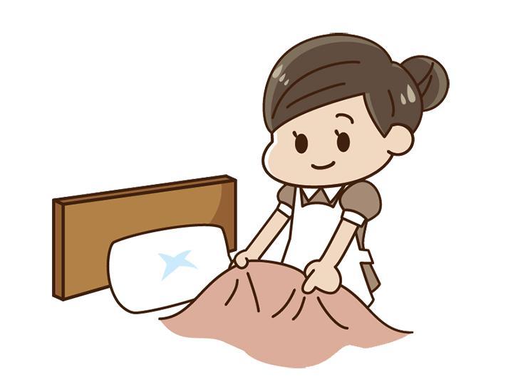 【客室清掃】未経験の方大歓迎☆駅チカ☆定年後のお仕事に選ばれています☆