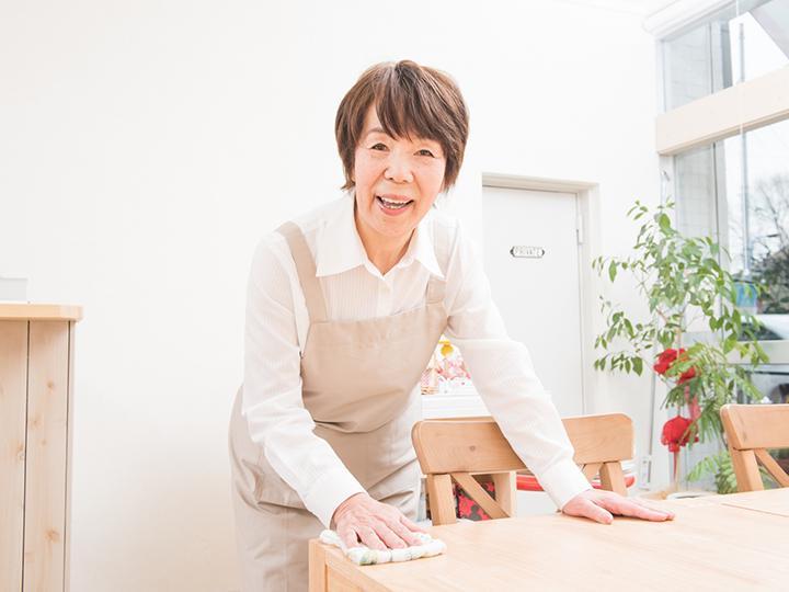 【清掃・軽作業スタッフ】家庭との両立がしやすい☆短時間のお仕事!