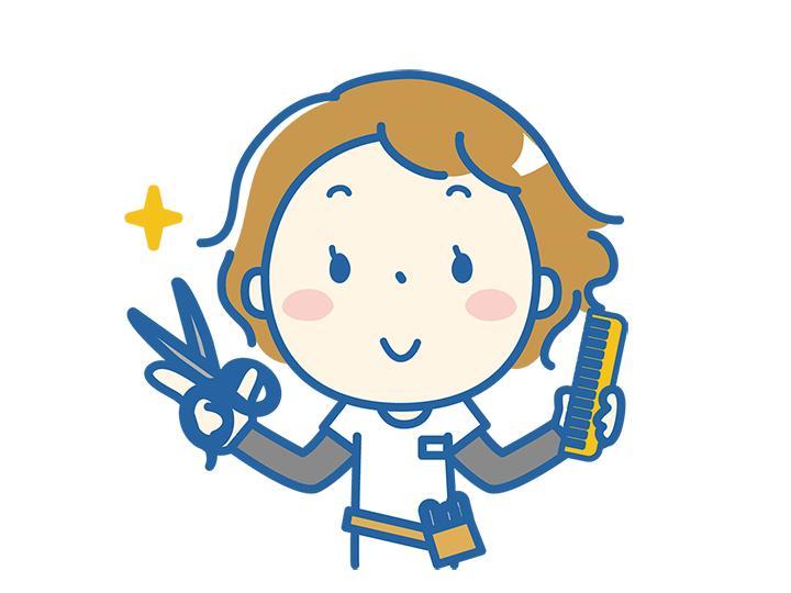 【理容師・美容師】ブランクのある方も大歓迎!好きな時間にシフトIN♪週1日~、1日3h~OK!!